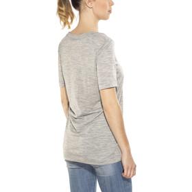 super.natural Oversize T-shirt Femme, ash melange